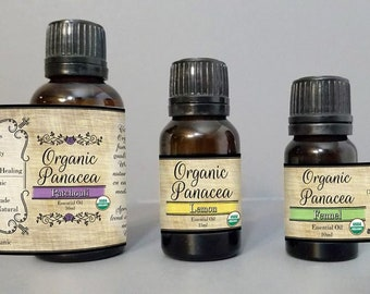 Frankincense Essential Oil | certified organic, steam distilled |