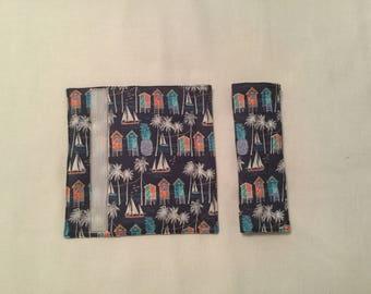 Tropical Padded Car Seatbelt covers (Set of 2)