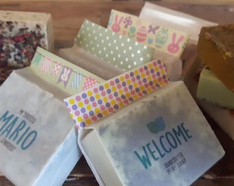 PERSONALIZED MINI SOAP - handcrafted