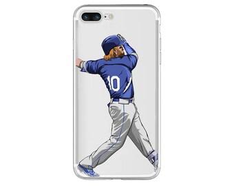 "The ""Dinger"" Baseball Phone Case, Hand-Drawn Baseball iPhone Case / Fits iPhone 5, iPhone 6, iPhone 7"