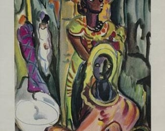 Irma Stern limited edition photolithographs