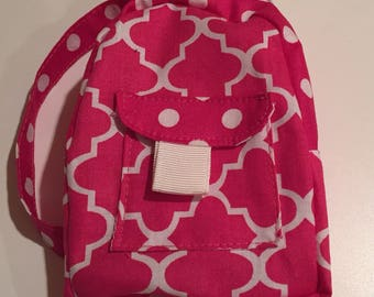 Pink Doll Backpack