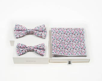 Flowerfield father and son set red MORÉ de-