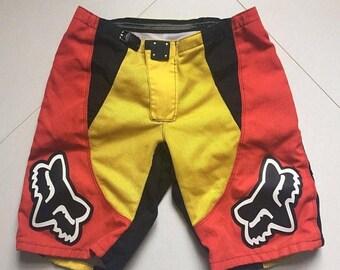 LAST DAY 35% OFF Fox Racing Motocross Dh Mountain Bike Shorts size 36