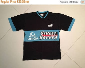 LAST DAY 35% OFF Puma Soccer Football T shirt jersey - Size M 176cm