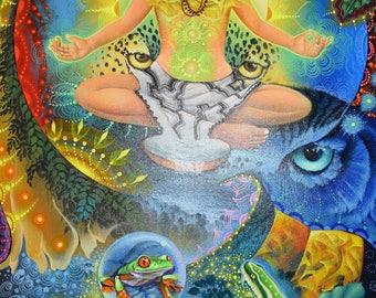 Pachamama paintings2