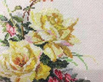 """Yellow flowers 12""""х 9"""""""