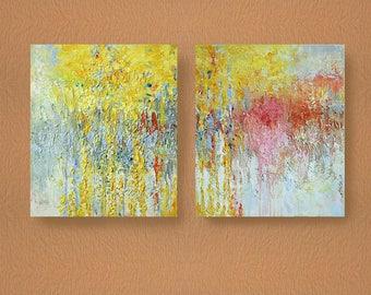 Engagement Wedding Gift, Wall Art, Acrylic Original Painting, Modern art, Abstract Art, Canvas Art, Original Рicture by Petrenko-Litvinova
