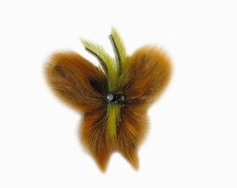 Pins, lapel pin set, fur brooch - pendant set, needle, fur Pompom, bag charms, Fuchs Bobble, Bobble, fur pendants, fur pendants, stick, PIN