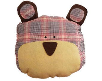 bear pillows  High quality decorative hand made pillows for kids and adults