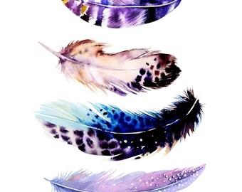 Feathers 2 Cross Stitch Pattern