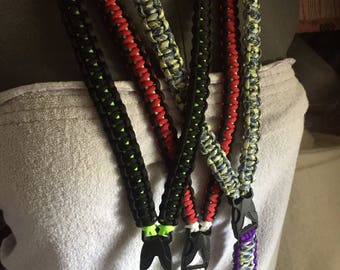 Custom Paracord Lanyard