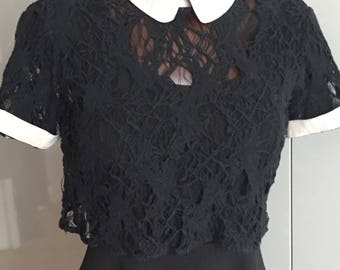 OPENING CEREMONY stunning little blouse size S