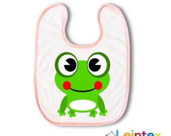 Bib Frog Baby Baby bib Frog No133