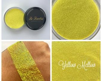 Yellow Mellow - Cosmetic Glitter, Loose Glitter