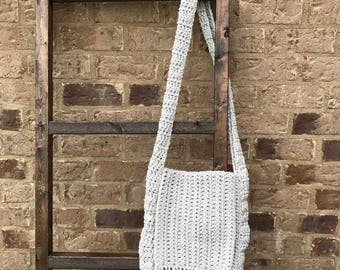 Crochet Boho Purse - Cross-body Purse - Bohemian Purse