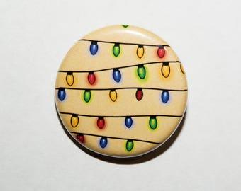 Christmas Lights Badge