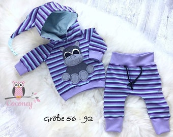 Pullover shirt and children pants set