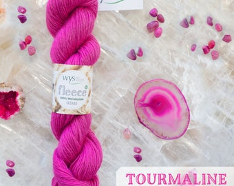 100% Wensleydale Gems Collection DK -Tourmaline