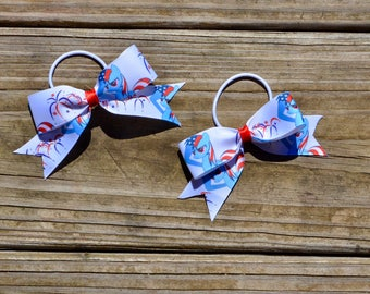 My Little Pony Patriotic Rainbow Dash 4th of July Hair Bow