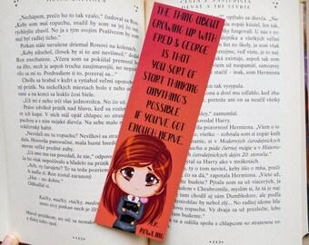 Ginny Weasley Bookmark