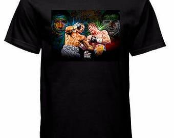 Saul Canelo Alvarez vs Gennady Triple G Golovkin Title Fight Boxing