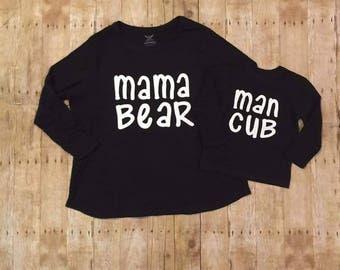 Mama bear/ man cub