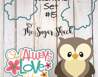 Valentine Cookie Cutter Set #15