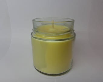 Vegetable soy wax scented musk.