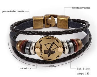 12 constellation zodiac bracelets
