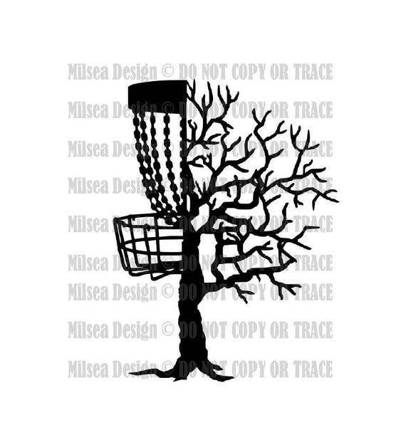 disc tree branches disc golf disc golf svg svg dxf eps