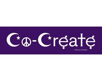 Co-Create Bumper Sticker