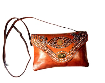 Nejma Crossbody leather handbag