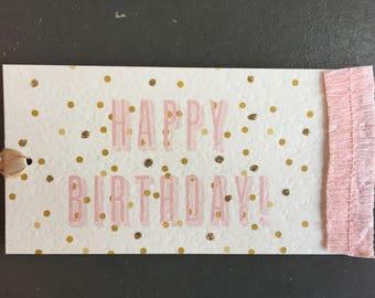 Happy Birthday (Gift Tag)