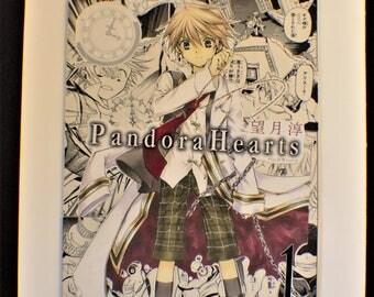 Pandora Hearts Manga Plaque