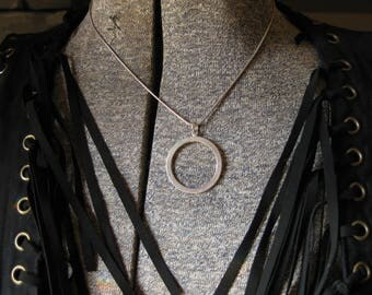 Shine On Circle Necklace