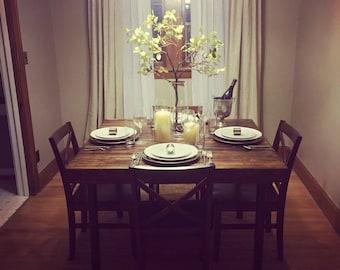 Douglas fir reclaimed dining table