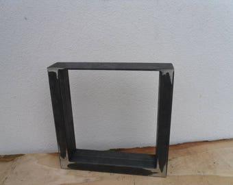 50Bx40H cm table leg table base table base dining table 8 x 4 cm profile