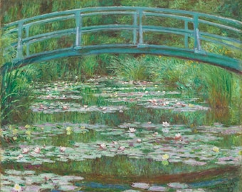 The basin with water lilies, Claude Monnet 1899.
