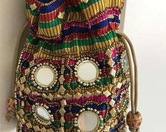 Indian Ethnic Embroidered Hand Bags