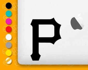 pittsburg pirates, pittsburg decal, pittsburg sticker, pittsburg vinyl, pirates baseball, sports decal, baseball car decal