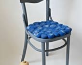 Chair Stool Pad Home Decor, Seat Cushion From Felt Stones, Modern Scandinavian Pillows for Chairs