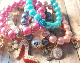 Pink Diamonds & Pearls