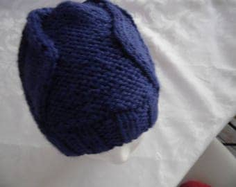 Blue color child hat one size