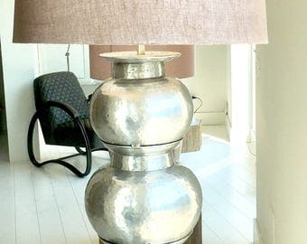 """Bubble"" aluminium lamp"