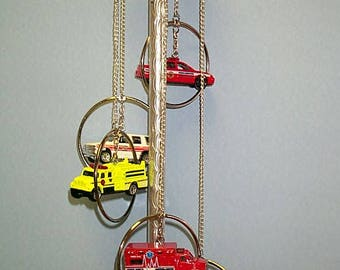 MAAC Windchimes 5 Ring Firetruck Windchime