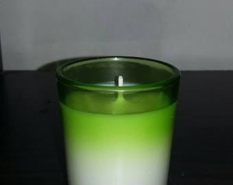 Coconut lime soy votive