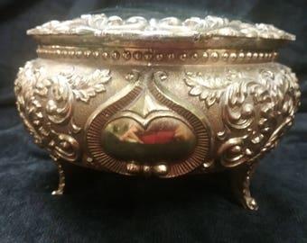 Vintage Himark Trinket/Jewelry Box