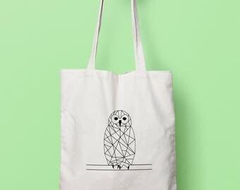 Geometric owl bag (duplex)