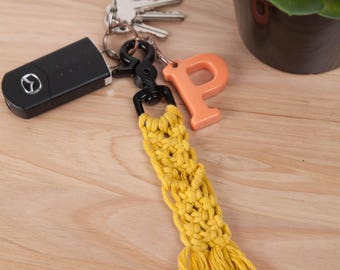 Coloured Macrame Keychains